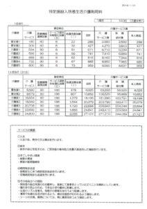 ケア特定施設_料金表②のサムネイル