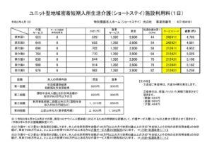 ショート料金表(R3.4)のサムネイル